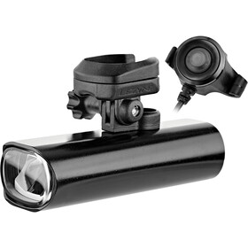 Lezyne Lite Drive Pro 80 Reflector delantero STVZO incl. soporte X-Lock, glossy black
